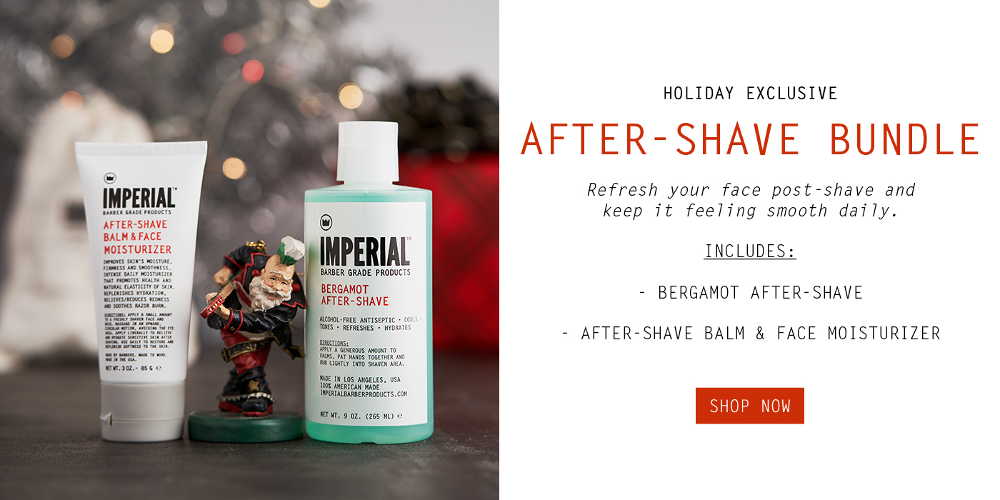 After-Shave Bundle - Holiday Exclusive