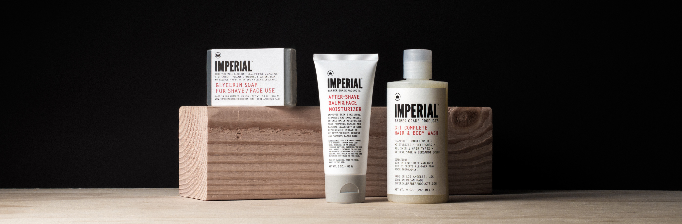 Skin Care | Imperial Barber Products