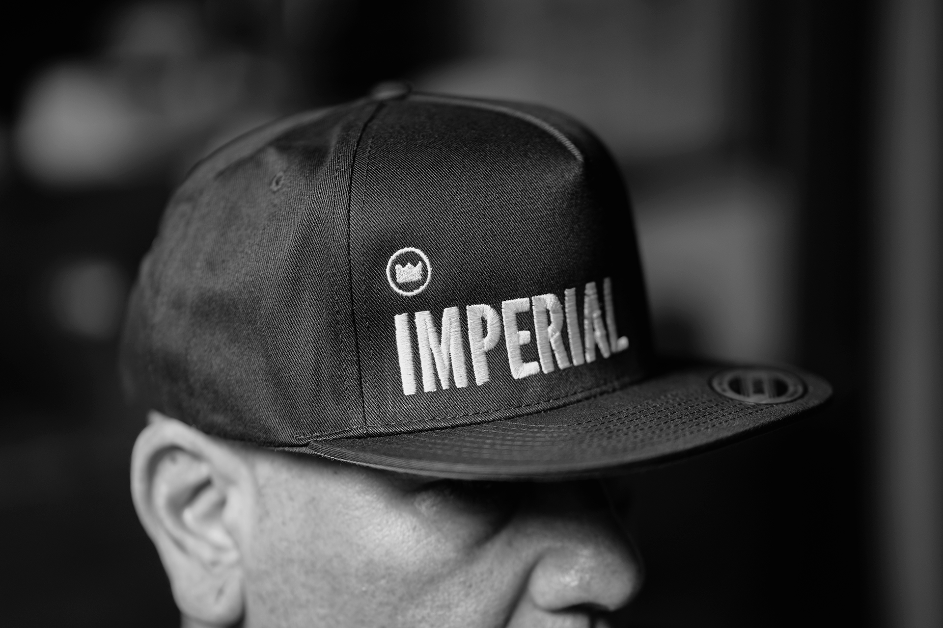 THE IMPERIAL LOGO SNAPBACK