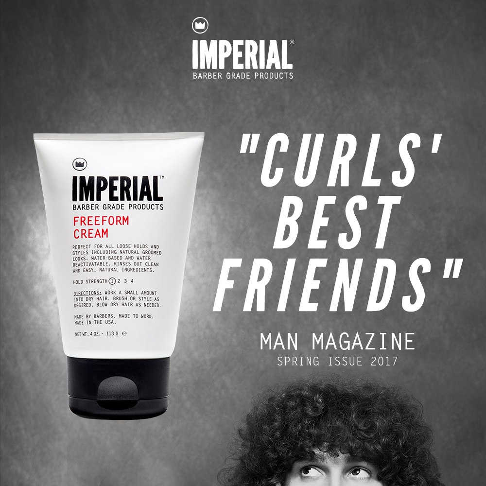 [Man Magazine] Curl's Best Friends