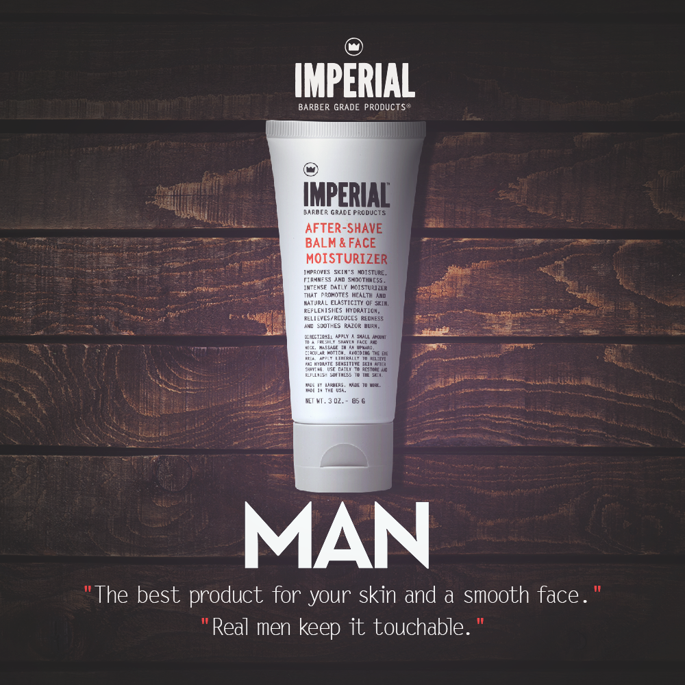 [MAN MAGAZINE] Real Men Keep It Touchable