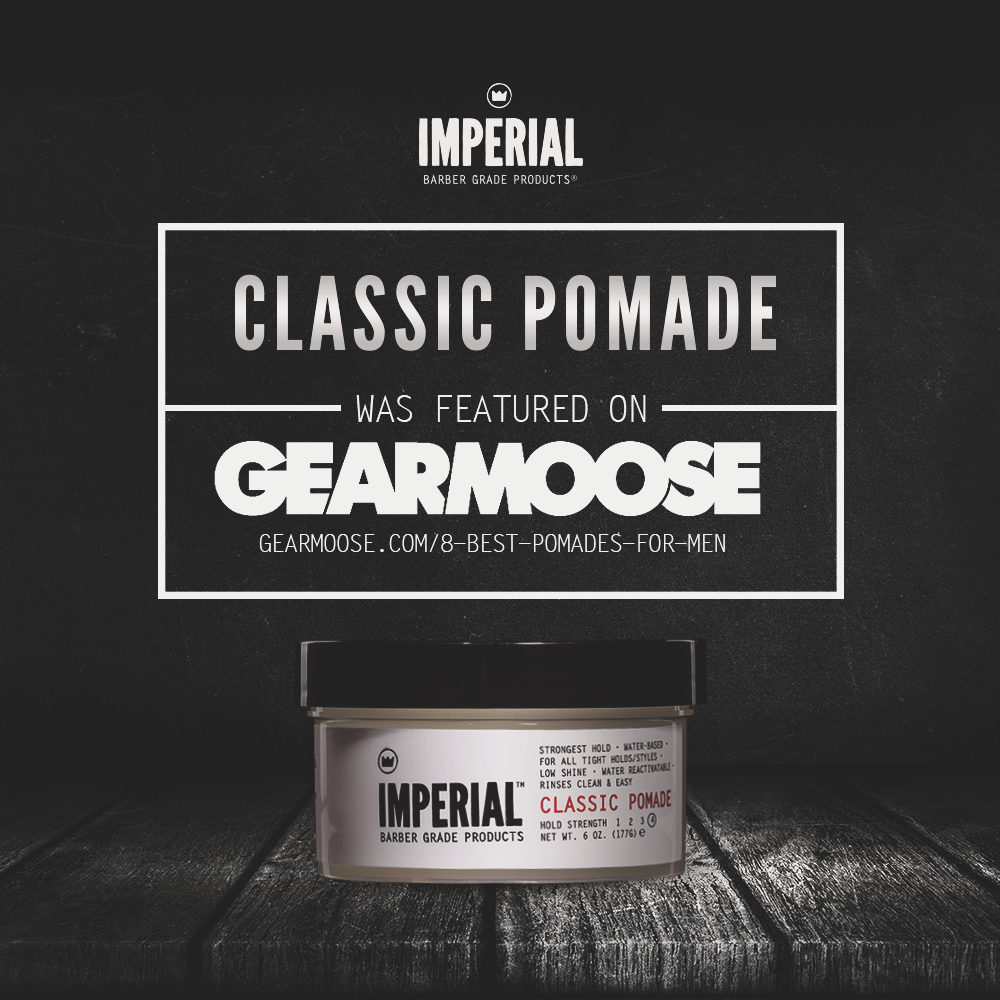 [GEAR MOOSE] BEST POMADES FOR MEN