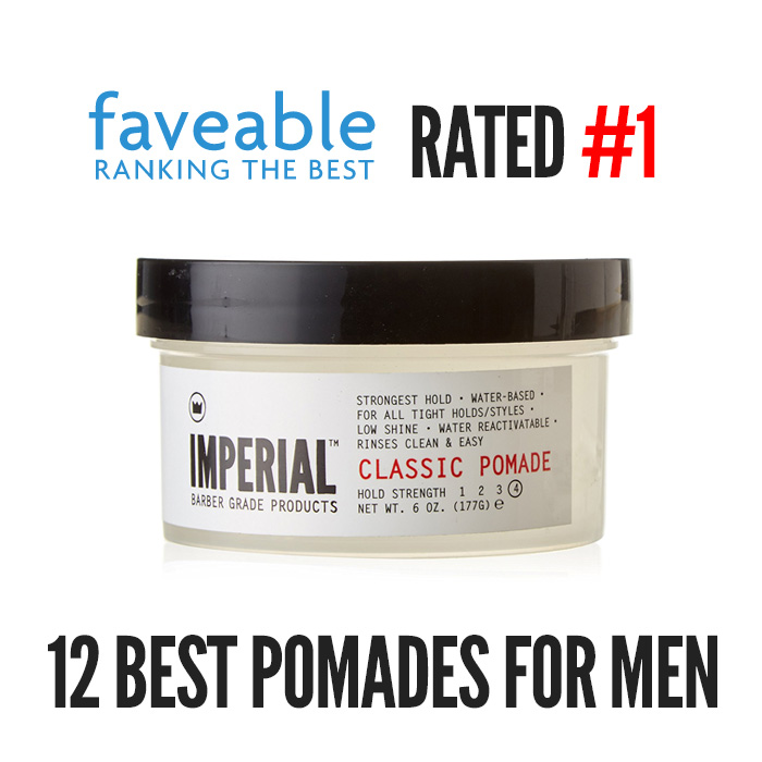 [FAVEABLE] RATED #1 BEST POMADE FOR MEN