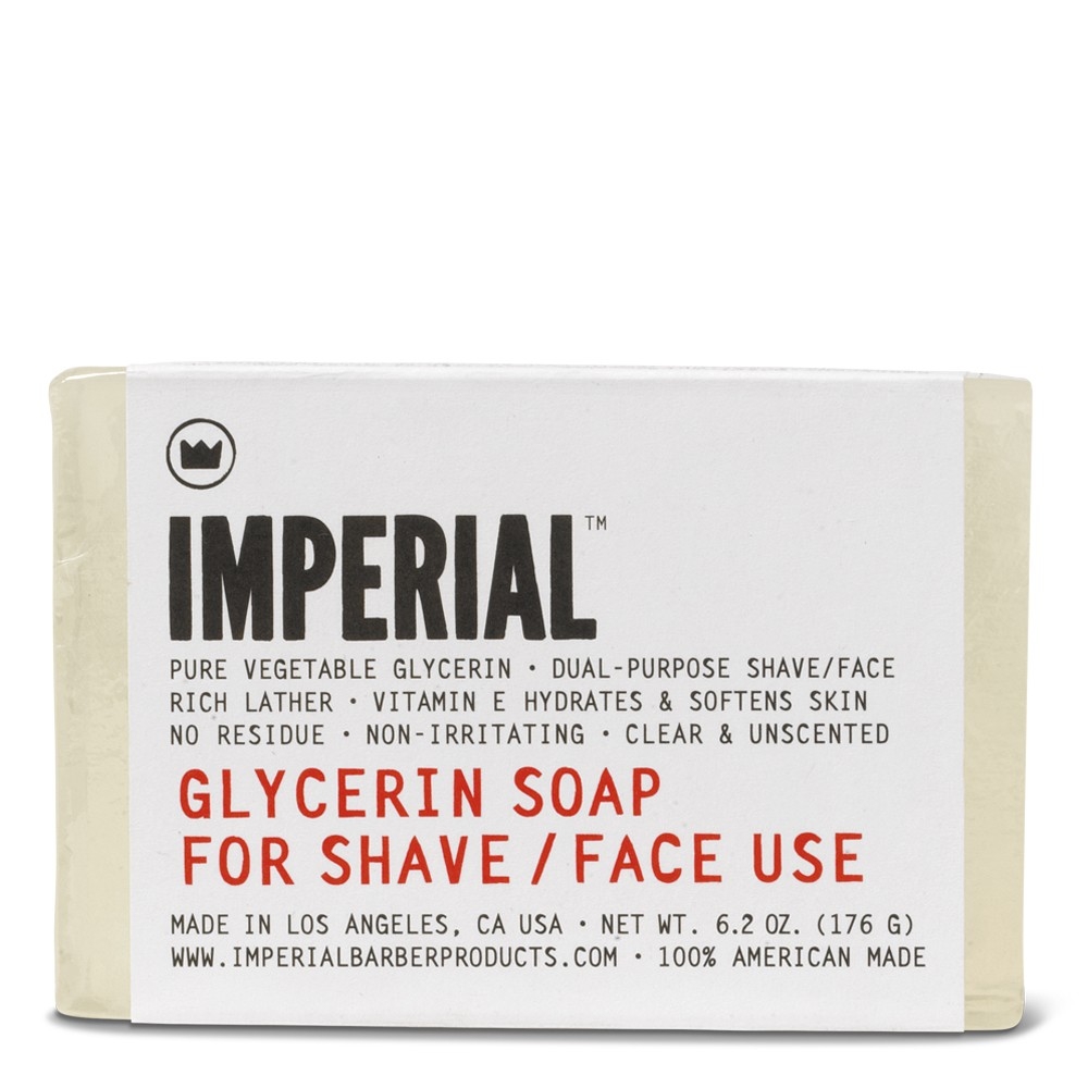 Glycerin Shave/Face Soap (Bar)
