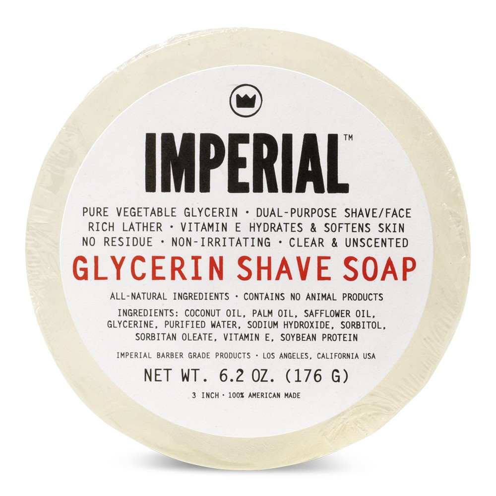Glycerin Shave Soap Puck