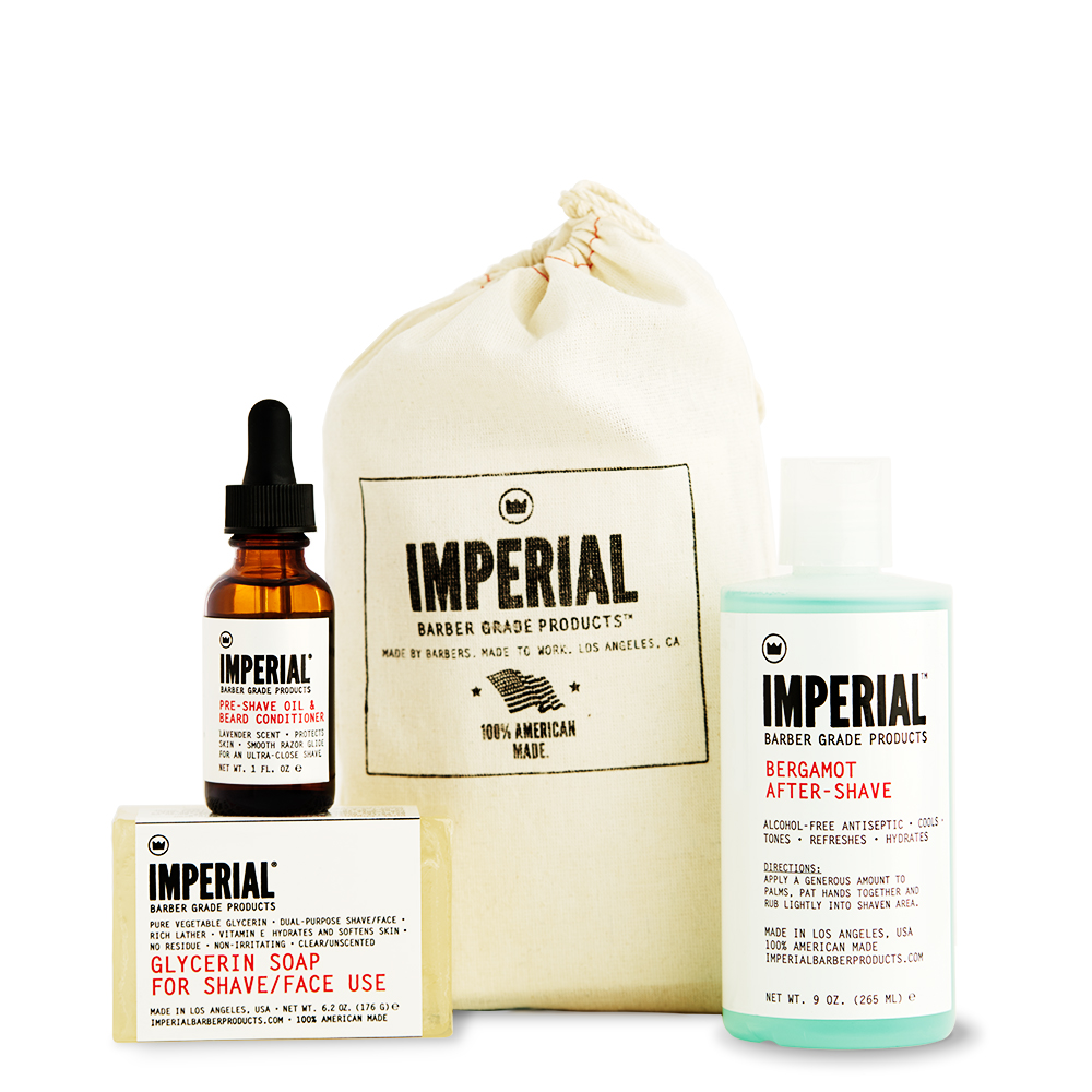 SHAVE BUNDLE - IMPERIAL BARBER PRODUCTS