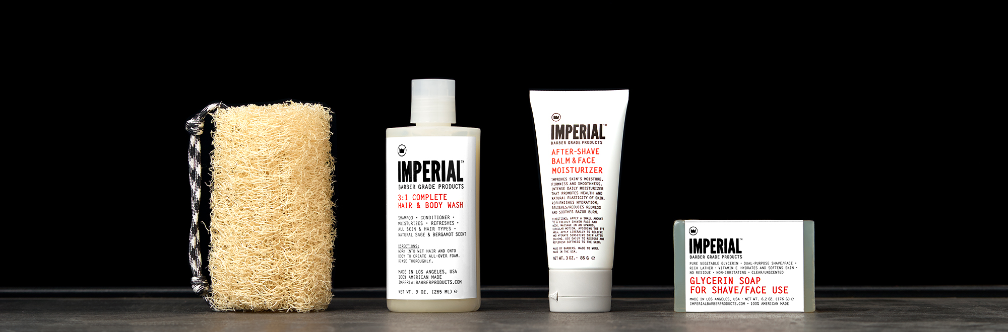 Skin Care - Imperial Barber Products