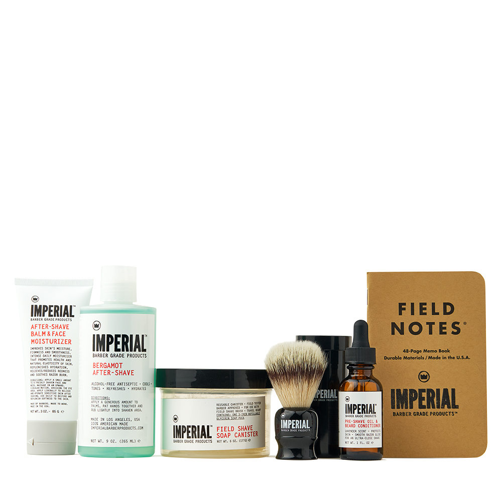 Deluxe Shave Kit - Imperial Barber Products
