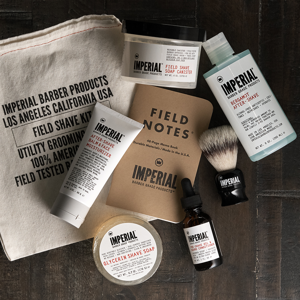 Deluxe Field Shave Kit - Father's Day