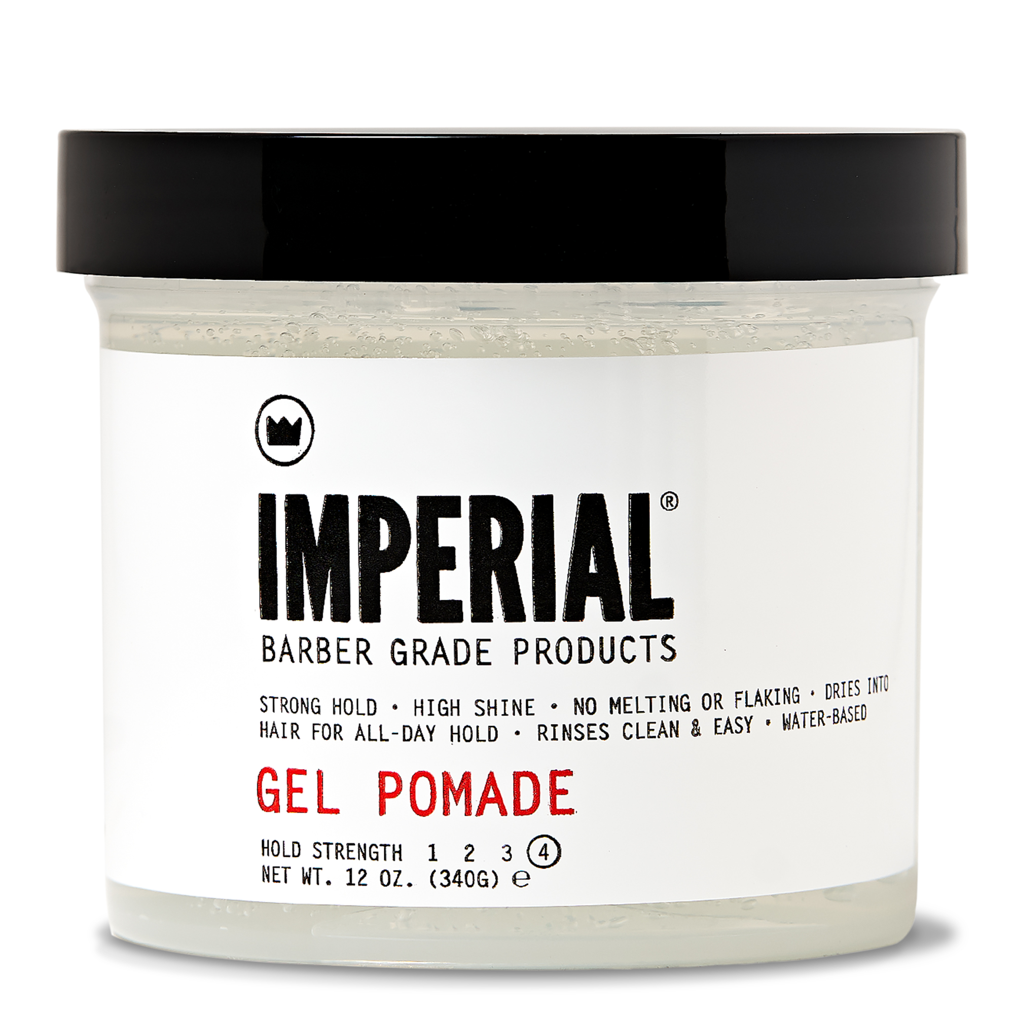 GEL POMADE 12 OZ - FRONT