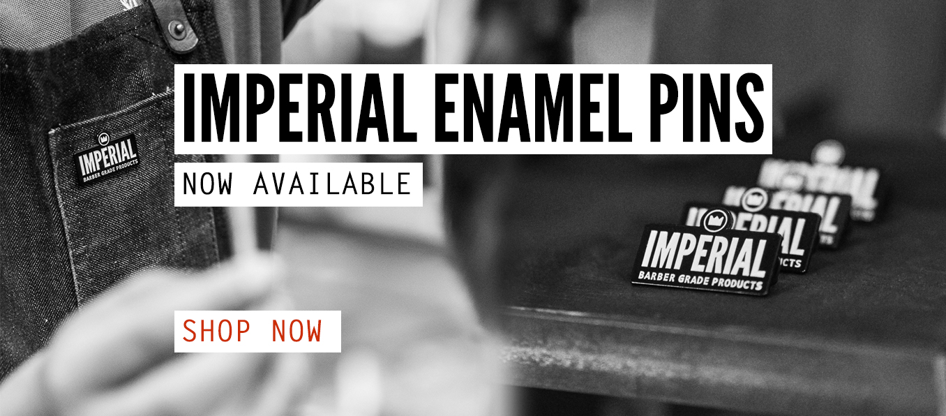 Imperial Barber Products Enamel Pins