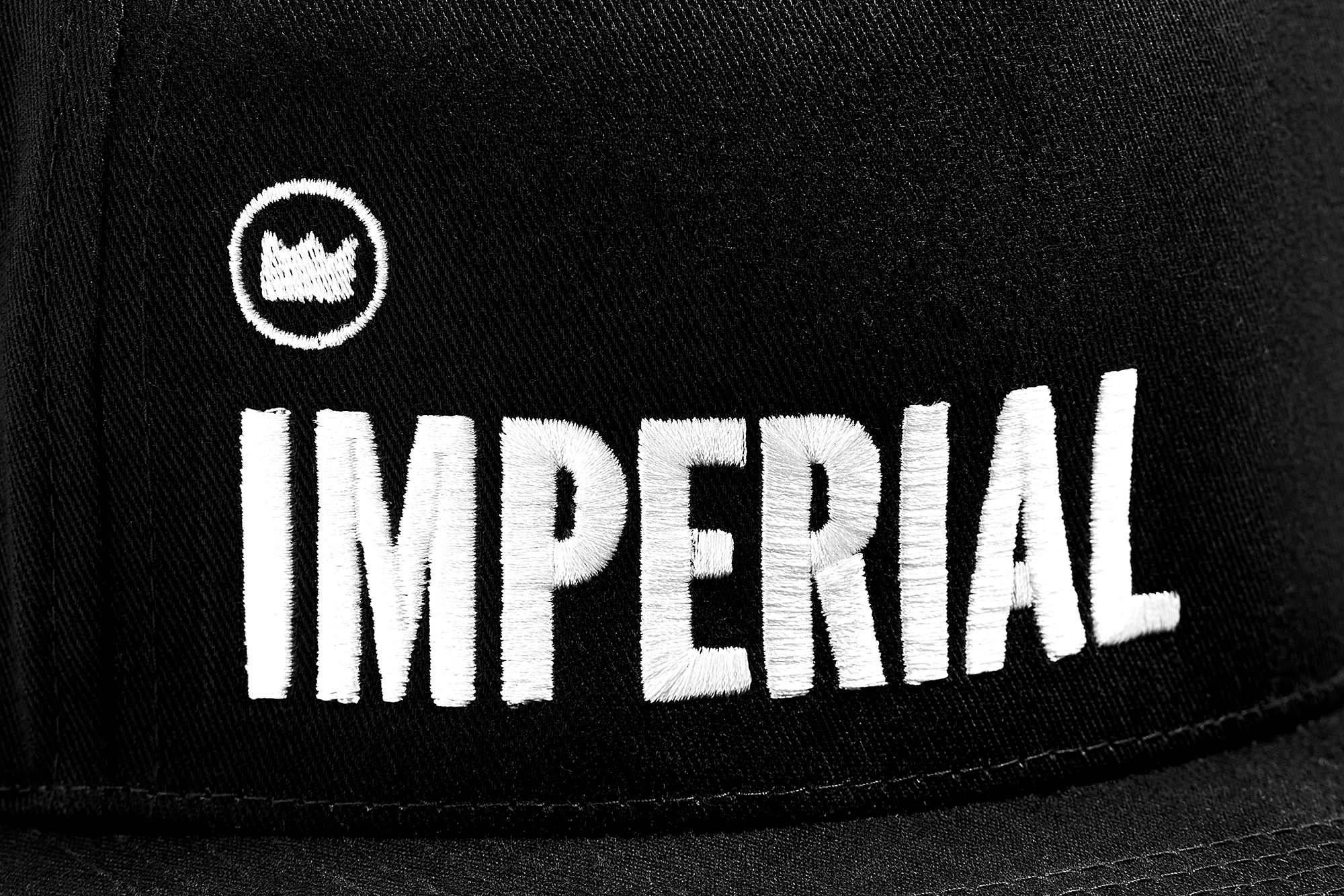 Imperial Logo Snapback - Detail