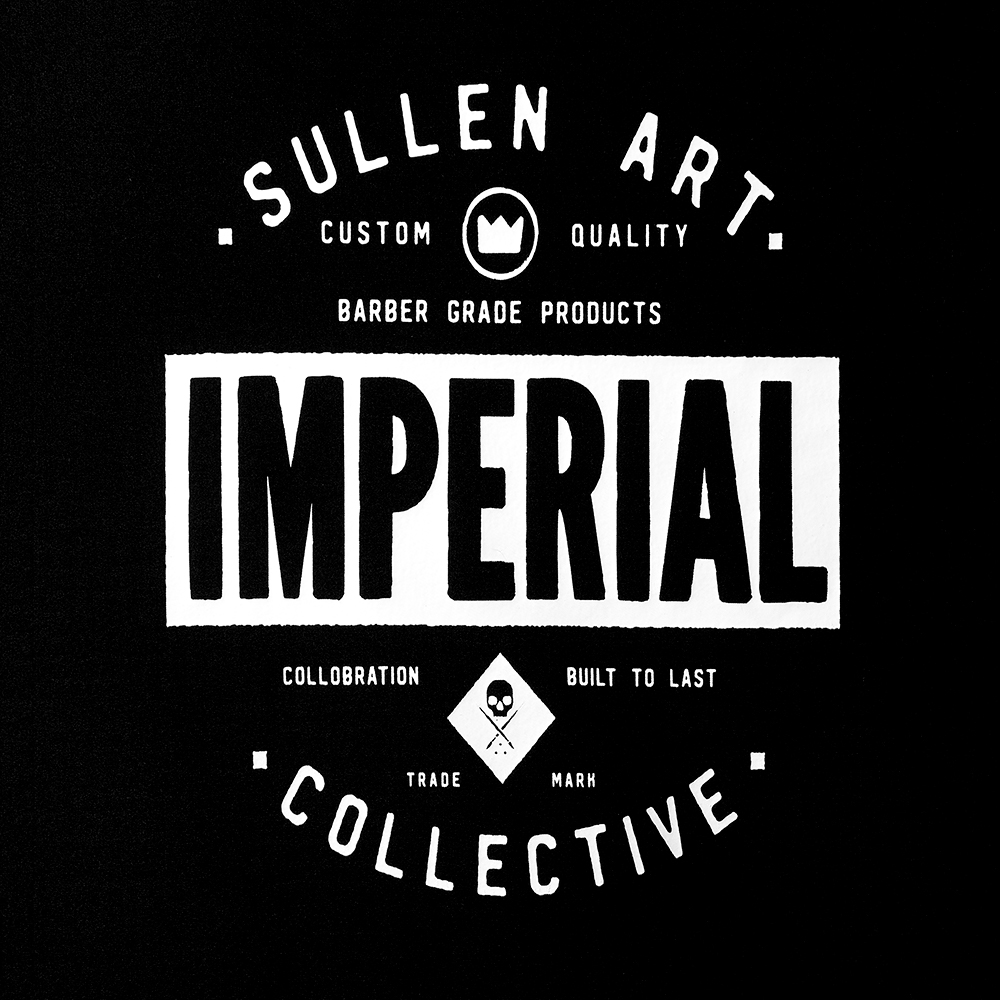 Imperial Sullen Barber Cape Limited Art 01