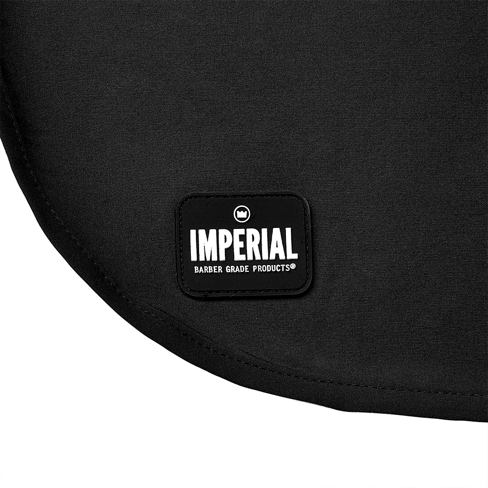 Imperial Sullen Barber Cape Rubber Logo