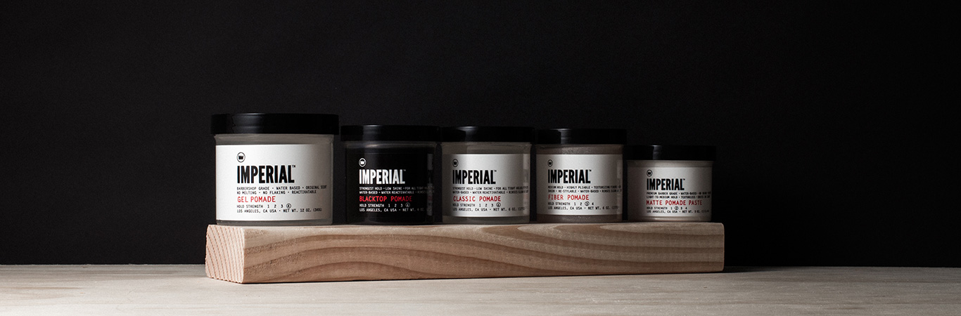 Hair - Pomades & Styling Products | Imperial Barber Products