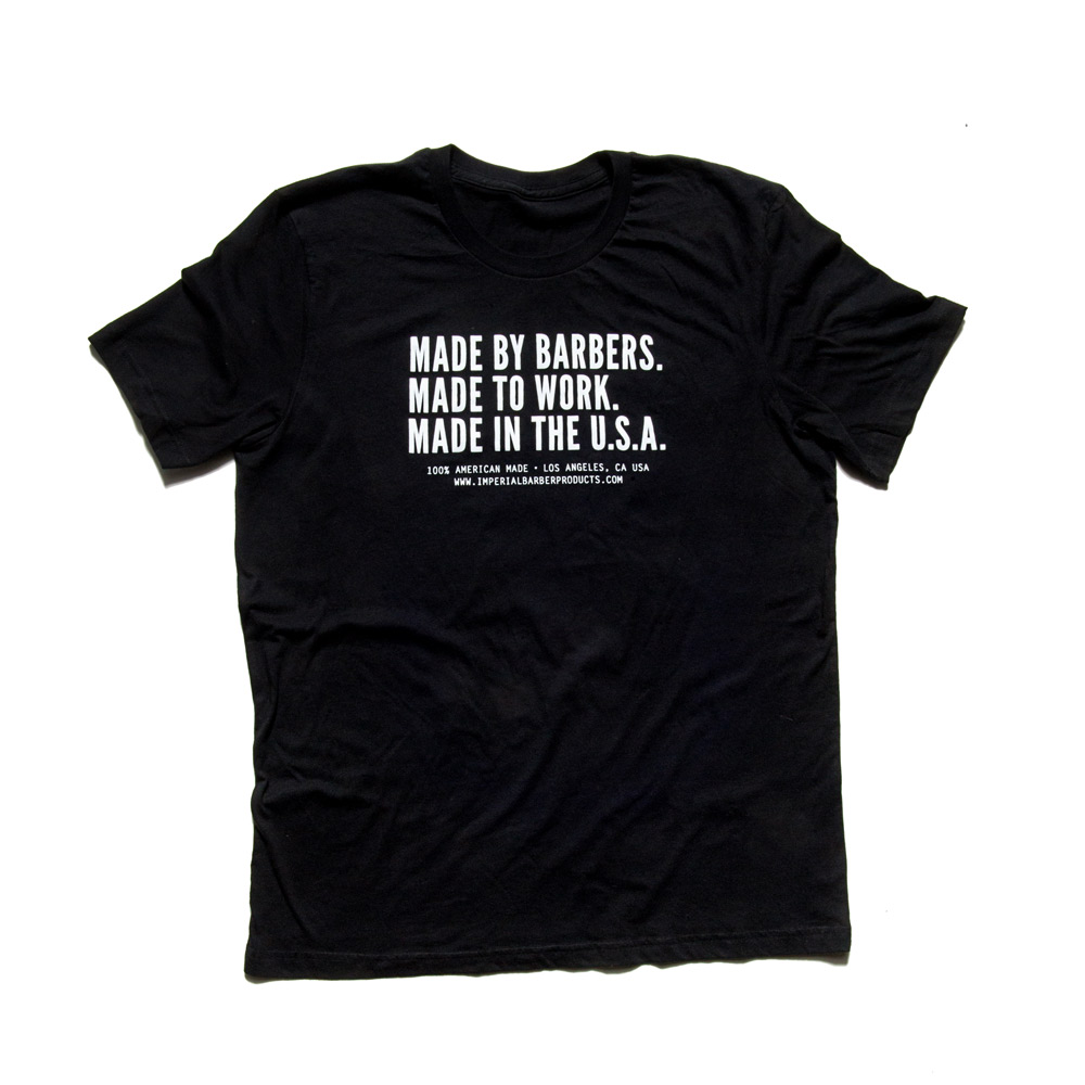 Made By Barbers T-shirt