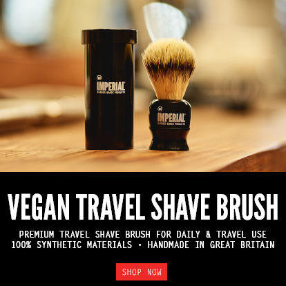 VEGAN TRAVEL SHAVE BRUSH - SHOP NOW